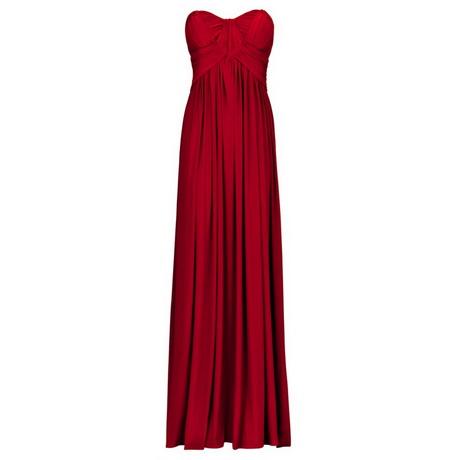 Abendkleid lang rot