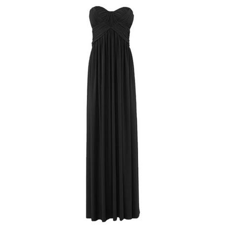 abendkleid schwarz lang