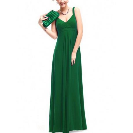 abendkleider lang grün
