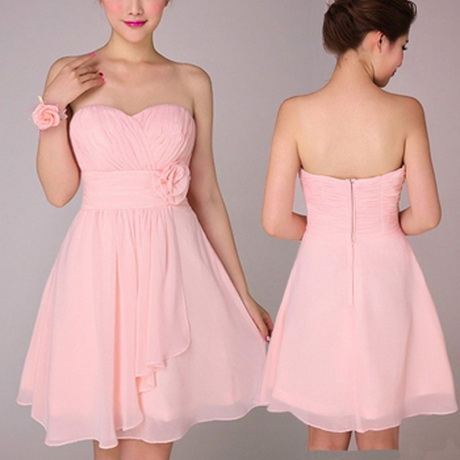 Abendkleider rosa kurz