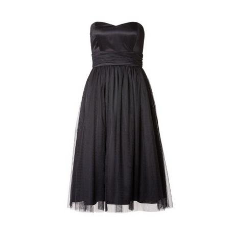 abendkleider schwarz knielang
