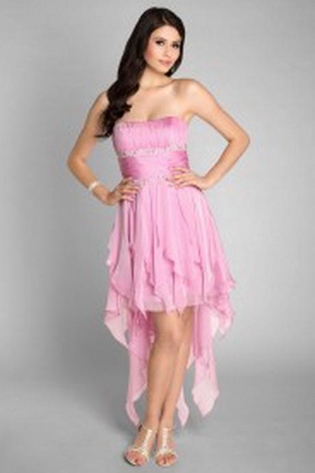Abiballkleider rosa