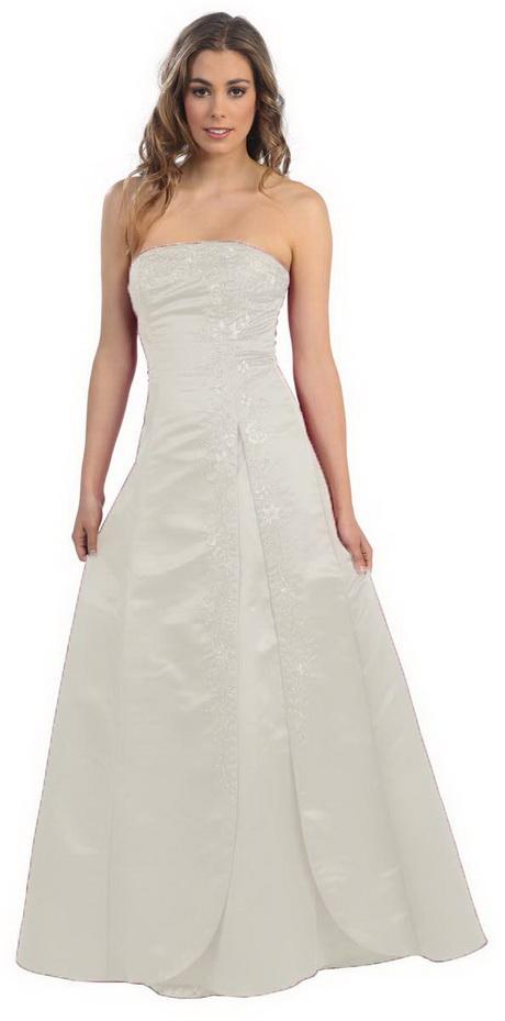 Brautkleid Schlicht Und Elegant Einfach Traumhaft