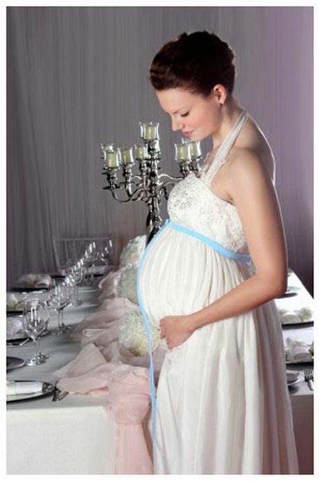 Brautkleid standesamt schwanger