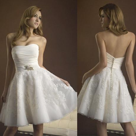 Brautkleid weiss kurz