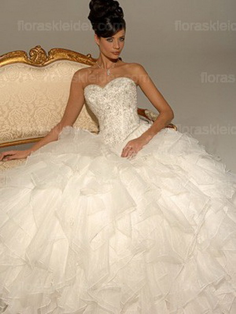 Princess Ballkleid Liebsten baskischen Taille Brautkleider Style ...