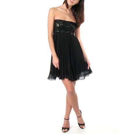 cocktailkleid schwarz kurz