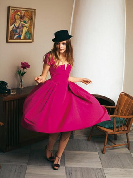 Платья сшить в стиле ретро стиль 183