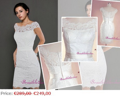 Elegante kleider standesamtliche hochzeit - Elegante kleider kurz ...