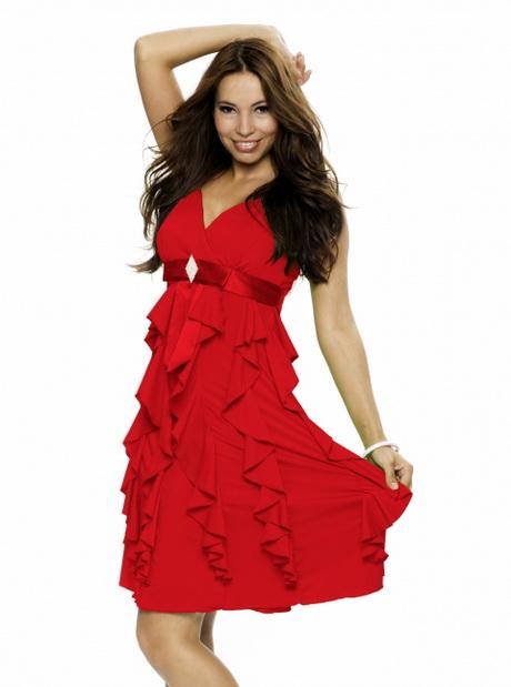 Elegante rote kleider - Elegante kleider kurz ...