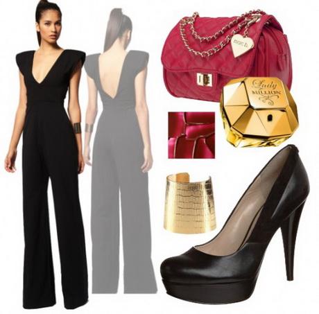 pin g nstige abendmode damen overall apart jersey k gr 18. Black Bedroom Furniture Sets. Home Design Ideas