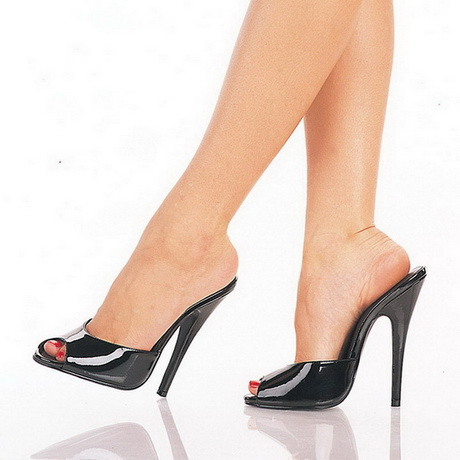 Womans Satin Open Toe Platform Shoe