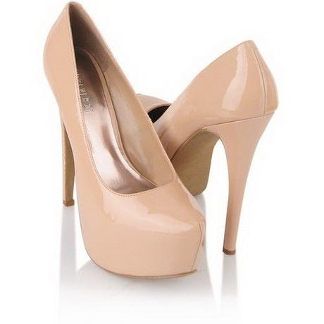 Sexy beige heels