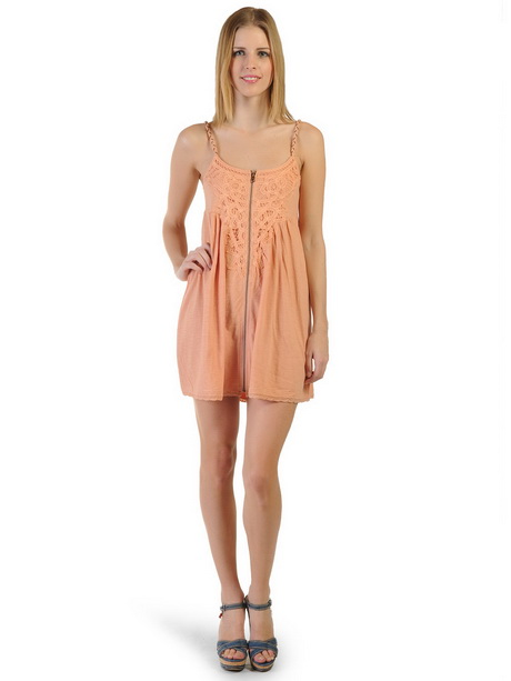 Kleid apricot