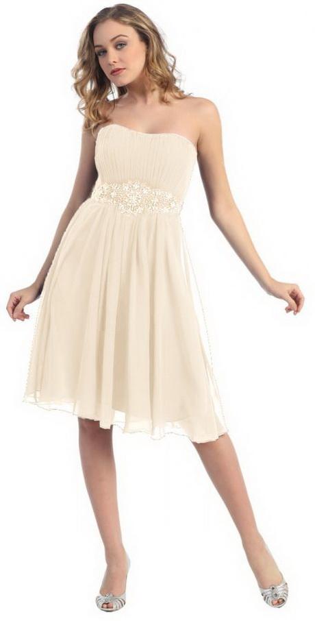 Kleid creme standesamt