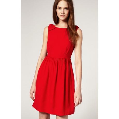 Kleid kurz rot