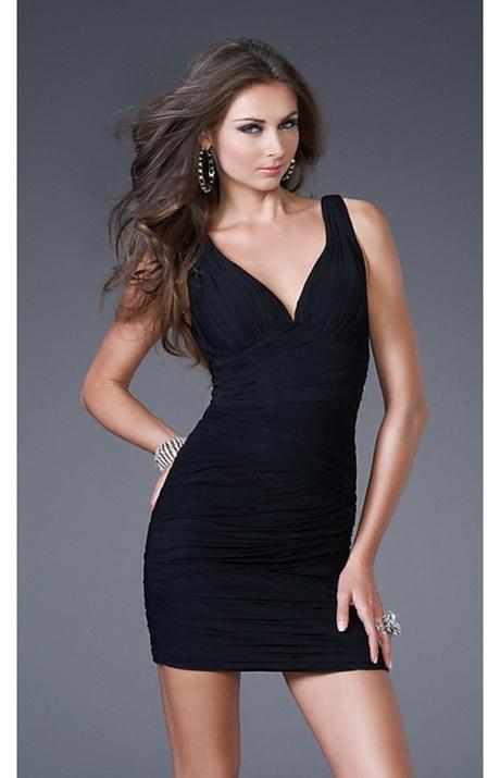Kleid kurz schwarz
