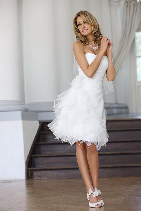 Kleid standesamt hochzeit