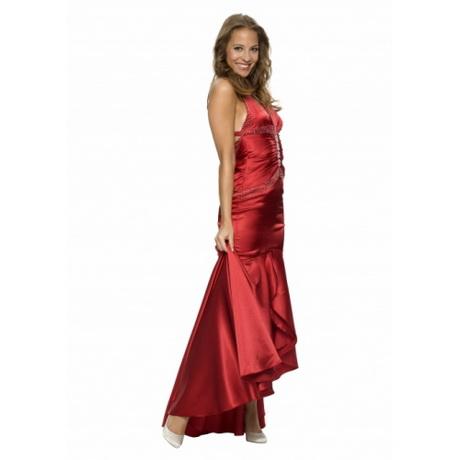 Kleid standesamt rot