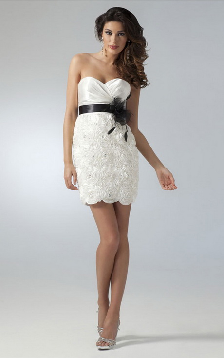 Kleid weiss kurz