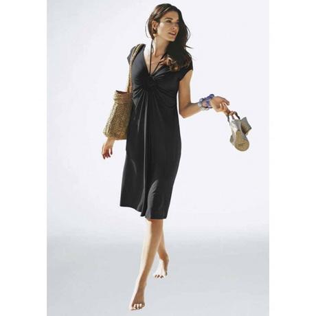 knielange elegante kleider