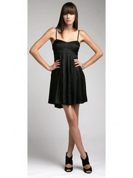 Kurze schwarze kleid