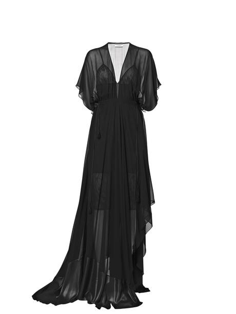 Lange schwarze kleider
