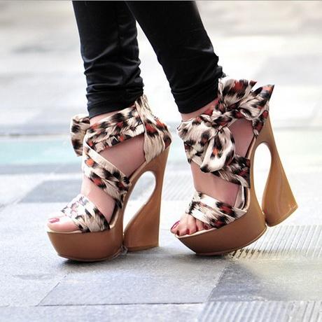 moderne high heels