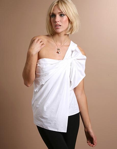 one shoulder top. Black Bedroom Furniture Sets. Home Design Ideas