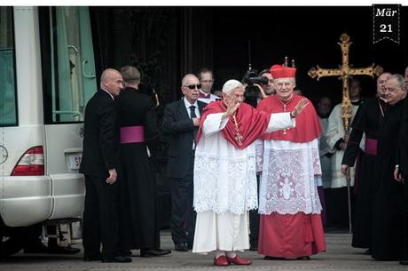Warum Trägt Der Papst Rote Schuhe