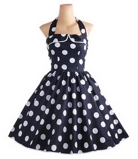 petticoat kleid im er stil