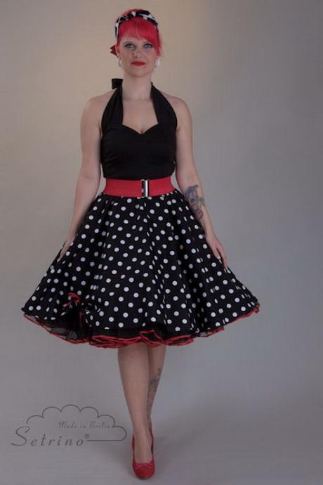 Petticoat kleid schwarz