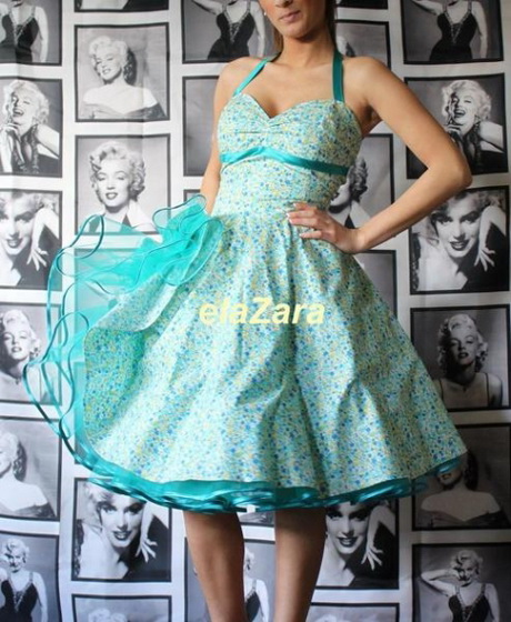 petticoat rockabilly kleid