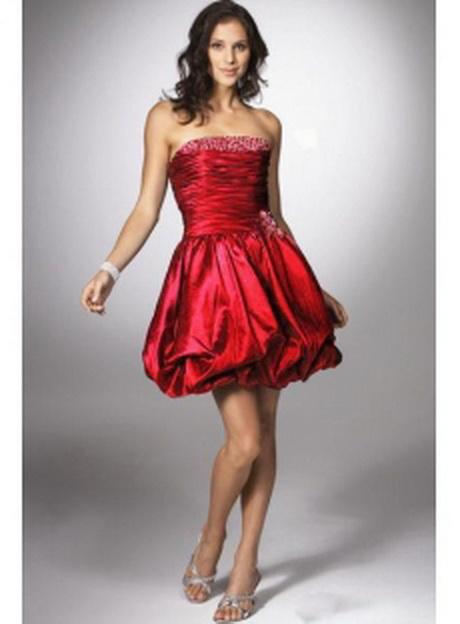 Rotes abschlussballkleider - Rotes brautkleid kurz ...