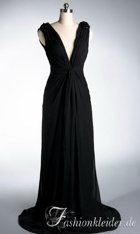 Schwarzes langes kleid rückenfrei