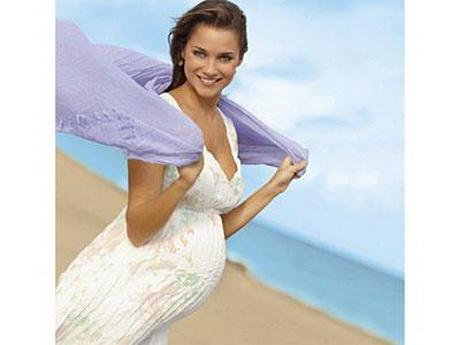 Sommerkleider für schwangere schwanger im sommer einfach herrlich