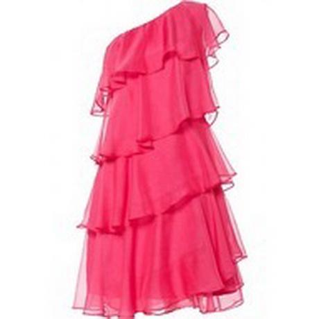 Платье из шифона с воланами