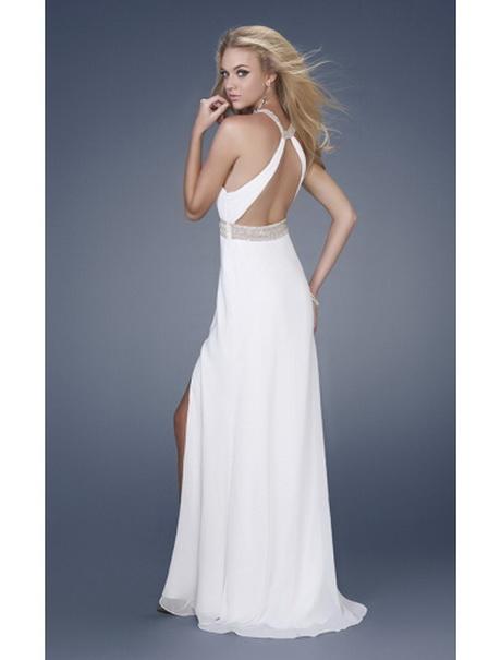 Weißes kleid rückenfrei