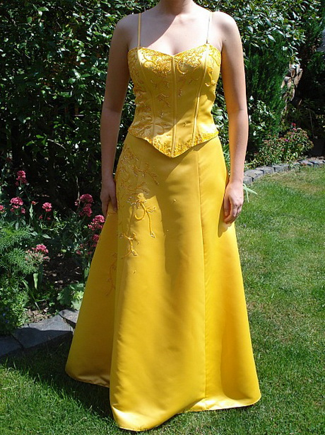 Zweiteiliges abendkleid