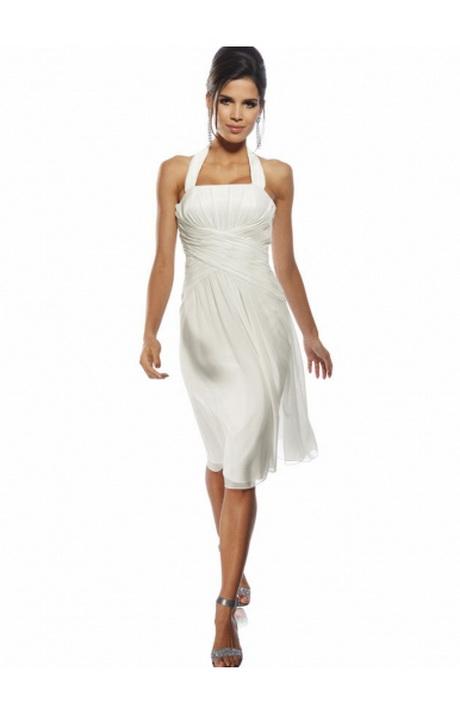 Kleider weiß kurz