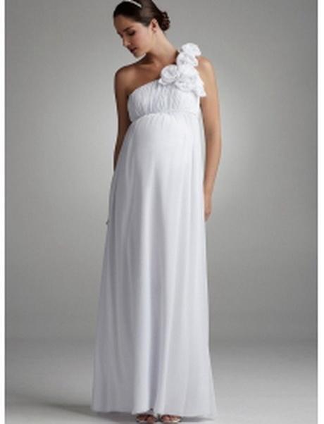 Schwangerschafts hochzeitskleid