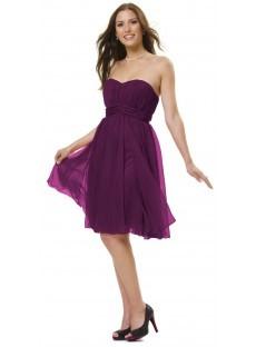 festliche kleider lila