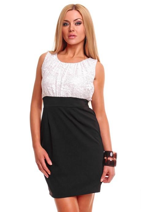 Festliche kleider schwarz weiß