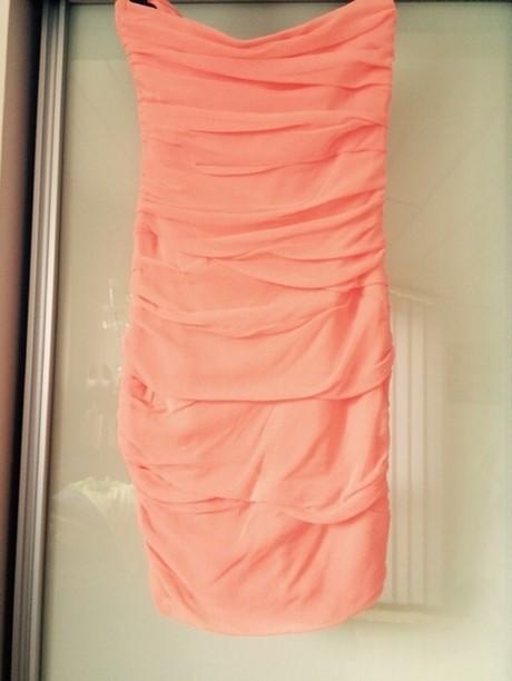 Kleid lachsfarben