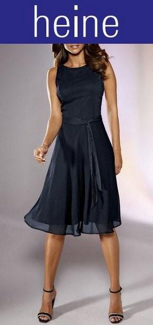 Kleid marineblau - Festliche kleider bei heine ...