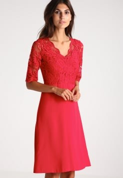 Kleid rot festlich