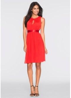 Kleid rot festlich - Bonprix kleider hochzeit ...
