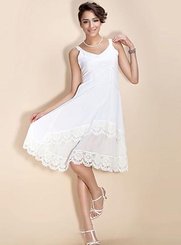 Kurze weiße kleider standesamt