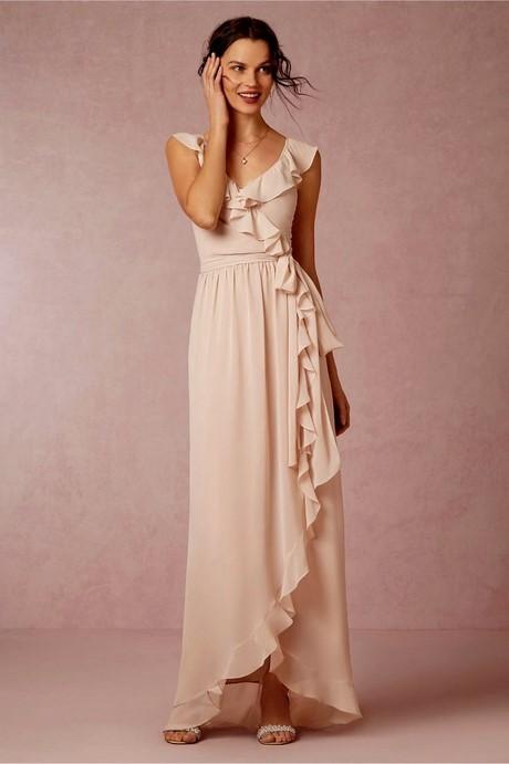 Langes kleid hochzeitsgast