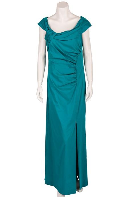 Abendkleid smaragdgrün